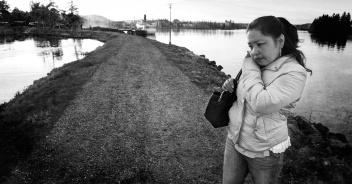 Emma vid sjön Warpen