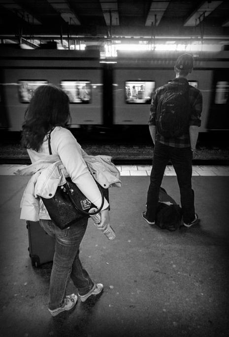 I väntan på Stockholms centralstation