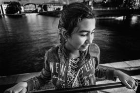 Sabina på bron